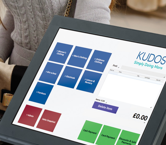Kudos Software | EPoS Retail Software Management Systems for